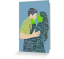 As Long As You're Mine Greeting Card