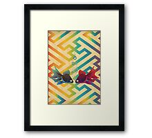 You and Me Both Framed Print