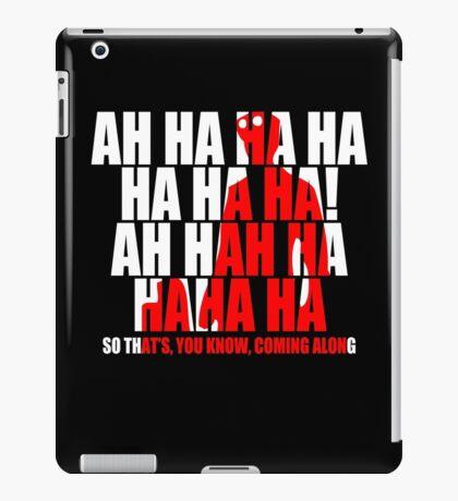 Dr Horrible Laugh  iPad Case/Skin