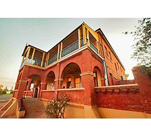 Great Cobar Mine Office Photographic Print