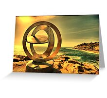 2016 Sculpture by the Sea 01 Greeting Card