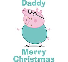 Daddy (christmas) Photographic Print