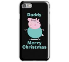 Daddy (christmas) iPhone Case/Skin