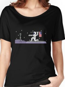 Space Hunter Women's Relaxed Fit T-Shirt