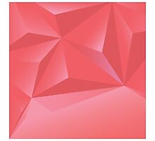 Abstract geometric vector background, 3d, template design elements Photographic Print