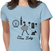 Time Lady Womens Fitted T-Shirt