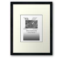 X-ray Framed Print