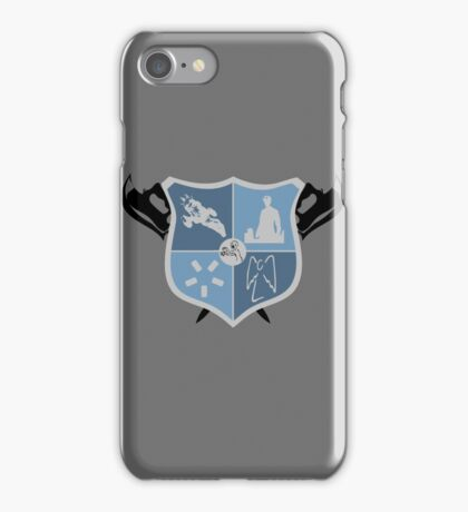 Joss Whedon Coat of Arms  iPhone Case/Skin