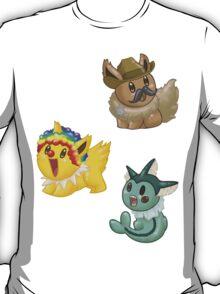 Costumed Eeveelutions - Set 1 T-Shirt