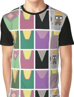 Screen Uniforms - Lost In Space - The Crew -Style 2 Graphic T-Shirt