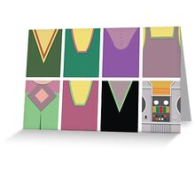 Screen Uniforms - Lost In Space - The Crew -Style 2 Greeting Card