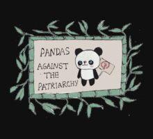 Pandas against the Patriarchy Kids Tee