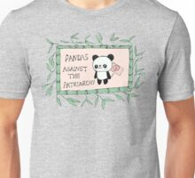 Pandas against the Patriarchy Unisex T-Shirt