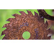 The Rusting Blade Photographic Print
