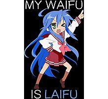 Konata Waifu Laifu Anime Manga Shirt Photographic Print