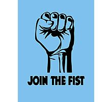 Join The Fist  Photographic Print