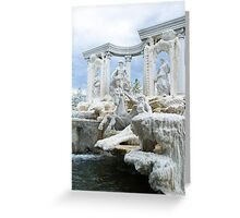 Classic fontain Greeting Card