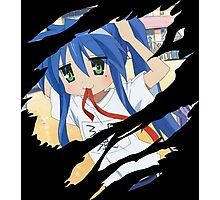 Konata Anime Manga Shirt Photographic Print