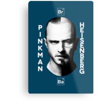 Breaking Bad - Pinkman & Heisenberg Metal Print