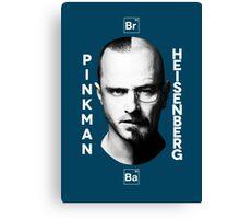 Breaking Bad - Pinkman & Heisenberg Canvas Print