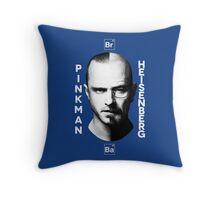 Breaking Bad - Pinkman & Heisenberg Throw Pillow
