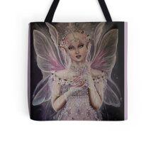Gossamer wings white pink fairy faerie fantasy  Tote Bag