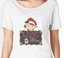 Christmas Products - Loco for Cocoa Women's Relaxed Fit T-Shirt