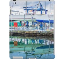Sailing Boat Reflections iPad Case/Skin