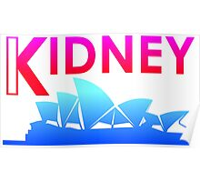 Kidney (Tropical Style) Poster