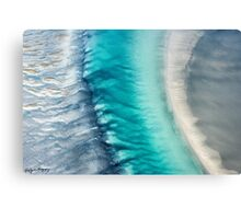 Ocean Channel Canvas Print