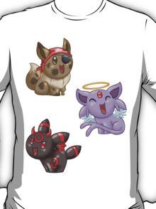 Costumed Eeveelutions - Set 2 T-Shirt