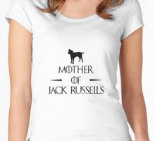 Mother of Jack Russells Women's Fitted Scoop T-Shirt