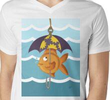 Coy Koi Mens V-Neck T-Shirt