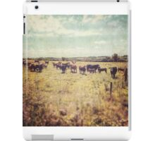 Irish cows iPad Case/Skin