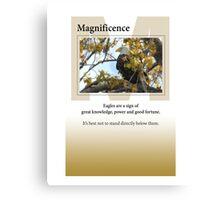 Magnificence Canvas Print