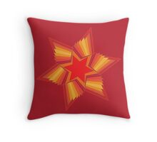 Holiday Star 3 Throw Pillow