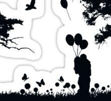 Love in Nature Sticker