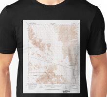 USGS TOPO Map California CA Cadiz Valley 296947 1956 62500 geo Unisex T-Shirt