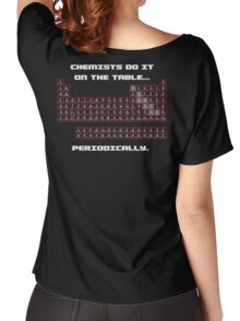 Chemists do it! (Back) Women's Relaxed Fit T-Shirt