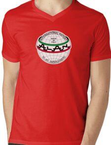 ALAN Vintage Bicycle Logo - head tube badge Mens V-Neck T-Shirt