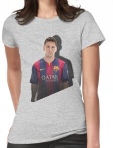lionel messi Womens Fitted T-Shirt