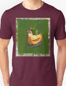 Chook t-shirt design, especially for girls Unisex T-Shirt