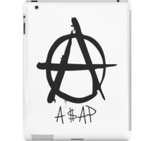 A$AP black  iPad Case/Skin