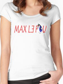 Goodies Max le Fou Women's Fitted Scoop T-Shirt