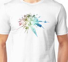 °FINAL FANTASY° Final Fantasy XIV Rainbow Logo Unisex T-Shirt