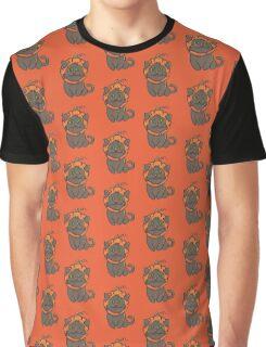 Halloween Cats - Cat in a Pumpkin Hat! Graphic T-Shirt