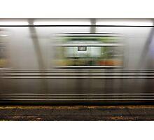 181 St Metro Photographic Print