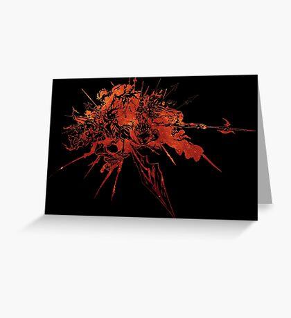 °FINAL FANTASY° Final Fantasy XIV Space Logo Greeting Card