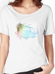 °FINAL FANTASY° Final Fantasy XV Rainbow Logo Women's Relaxed Fit T-Shirt
