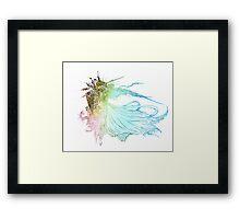 °FINAL FANTASY° Final Fantasy XV Rainbow Logo Framed Print